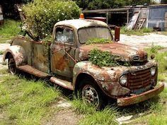 Flower Pot Truck