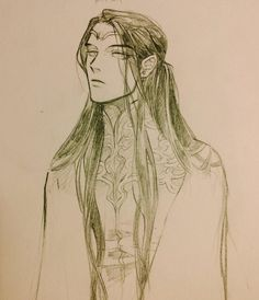 Fëanor - Literally, the fairest of them all (and the one with more swag).