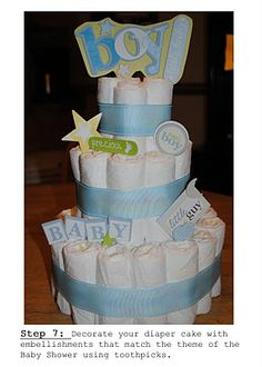 gonna make this for my son's teacher! Her baby is due in 5 weeks!