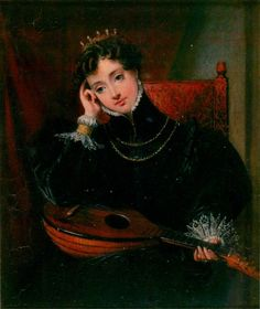 Amy Robsart by Charles Robert Leslie