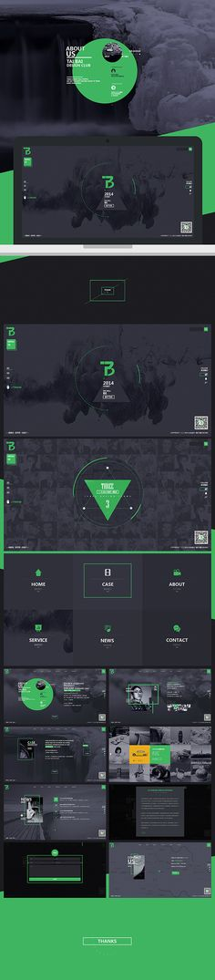 taibai on Behance Website Layout, Web Layout, Layout Design, Creative Web Design, Web Ui Design, Website Design Inspiration, Graphic Design Inspiration, Pag Web, Template Web