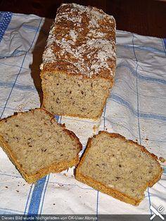 Gluten- und laktosefreies Brot
