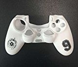 Imported White Silicone Skin Case Cover for Sony PlayStation 4 PS4 Controllerby Generic2534% Sales Rank in Video Games: 184 (was 4848 yesterday)Buy: Rs. 140.002 used & new from Rs. 140.00 (Visit the Movers & Shakers in Video Games list for authoritative information on this product's current rank.)