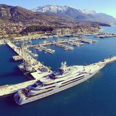 Porto Montenegro #boatim #portomontenegro #montenegro #superyacht #yachtlife #yacht #yachting #marina #berth #port #summer #sea #luxury #luxurylife #harbour #instayacht Thanks for following @boatim
