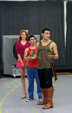 Glinda, Boq and Fiyero..