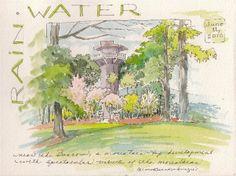 Illustrated Watercolor Journaling | Marilynn Brandenburger: June 2010