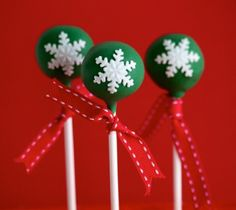 Christmas Ornament Cake Pops | Christmas Ornament Cake Pops Miss Alis Temecula