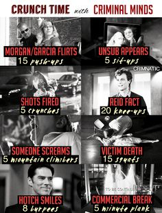Crunch Time Workout with Criminal Minds