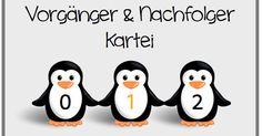 Diese Vorgänger und Nachfolger Kartei im Zahlenraum bis 100 lässt sich sicher nicht nur in den zahlreichen Pinguin-Klassen verwenden. Ich ha...