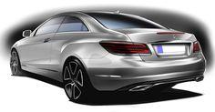 Mercedes E-Class Coupe 2014 design