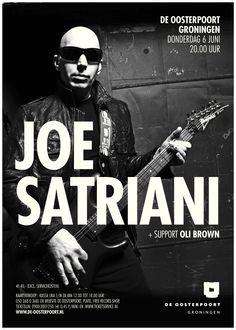 Joe Satriani wordt gezien als een van dé gitaarvirtuozen van eind vorige en begin deze eeuw. Hij speelde met o.a. Mick Jagger en Deep Purple, verkocht ruim tien miljoen platen en werd maar liefst vijftien keer genomineerd voor een Grammy Award.