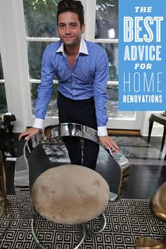 The 'Million Dollar Listing Los Angeles' star gives his best tips for home renovation.