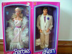 Crystal Barbie & Ken <3