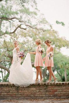 short bridesmaid dresses - brides of adelaide magazine - bridesmaid fashion