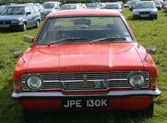 70s british cars - ford cortina