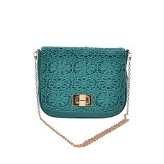HOST PICK * Fancy crochet mini clutch  * 9W*7H*2.5D  * Polyurethane, mixed metal  *Weight	0.76 lbs No Trades Bags