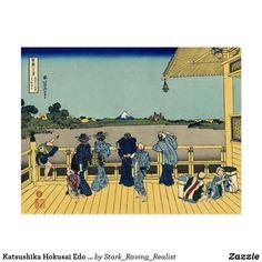 """Carte Postale Art """"Mt Fuji """" de Katsushika Hokusai Edo Japon"""