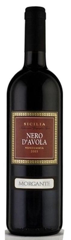Vino NERO D AVOLA Morgante  Sicilia DOC 2013 cl 75