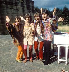 """'""""I Am The Walrus"""" sequence from the film """"Magical Mystery Tour""""'"""