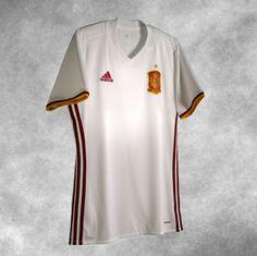 Nova camisa reserva da Espanha 2016-2017 Adidas