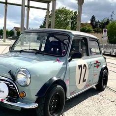 Mini Cooper Classic, Mini Cooper S, Classic Mini, Classic Cars, Fiat 600, Mini Cooper Tuning, Mini Uk, Mini Cafe, Honda Vtec