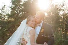 Bride and Groom | Chapel In the Hills Fall Wedding | Rapid City, South Dakota | legacytheblog.com » Photography blog of Amy Oyler, Legacy Photo and Design Rap…