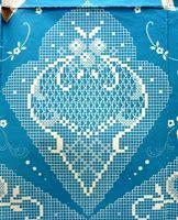 crochet em revista: esquema crochet lençol