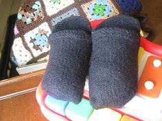 Free Knitting Pattern - Children's Socks & Booties: Basic Toddler Shoes