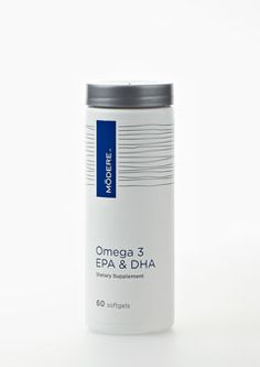 Omega 3 by Modere, with EPA and DHA fatty acids, which provides essential nutrients for good health.