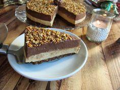 Una pincelada en la cocina: tarta fresca de turrón blando y de praliné de truf...