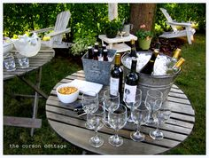 the corson cottage: Outdoor Entertaining ~ Backyard Party