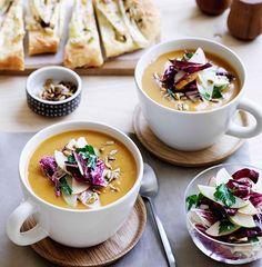 Spiced Pumpkin Soup recipe // Restaurant Associates
