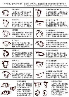 目の描き方・番外②