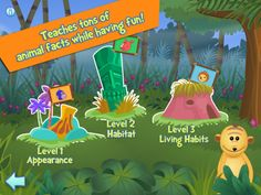 i Learn With the Mighty Jungle: Animals !  HD Lite - Best free educational kids' science fun learning game for children in preschool & kindergarten ($0.00) FREE version  ✓ High quality game designed specifically for iPad screen.  ✓ Teaches like a good book, plays like a fun game! Game based learning leads to much better retention than flashcards or books.    ✓ The difficulty is adapted to child's progress.  ✓ Tons of replayability.   ✓ audio clues and instructions. No need to know how to…