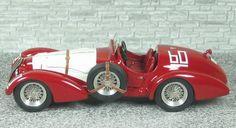 Alfa Romeo 412 Spyder Touring - Winner G.P. Svizzera 1951 #60 - Daetwyler- Alfa Model 43