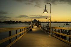 After being closed for about six months for repairs, the Bridge Street pier in Bradenton Beach Florida was recently reopened. And so I turned up before dawn to check it out as any other time this would be full of fishermen and activity, not that that's bad, but this time I just wanted a shot of the pier by itself.  Every now and then I show up here and always go home satisfied having found something new and interesting. In this case it was the pier itself.