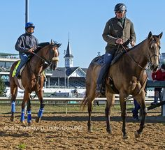 GORMLEY made a great first appearance on-track this am @ChurchillDowns , with Cisco Alvarado up and John Shirreffs on pon