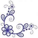 Modern Florals Embroidery Designs