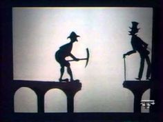 Shadow Puppet Theatre by Richard Bradshaw (Australia) - Broken Bridge - YouTube