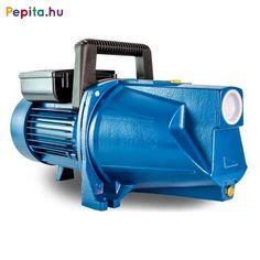 Elpumps által gyártott JPV2000B Jet rendszerű szivattyúk tiszta víz, vagy hozzá hasonló tulajdonságokkal rendelkező, nem agresszív és nem éghető folyadékok szállítására alkalmasak. Kiválóan használhatók háztartások ivóvízszükségleteinek és egyéb használati vizének pl. öntözés, locsolás biztosítására.    Előnyei:  A szivattyú konstrukciójából adódóan önfelszívó, csak a szivattyút kell felönteni.  A levegőt automatikusan kitermeli magából, így a szivattyú működése nem áll le.  Az axiál… Home Appliances, House Appliances, Appliances