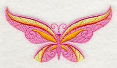 """Butterfly Spring 2   3.86""""(w) x 2.03""""(h)"""