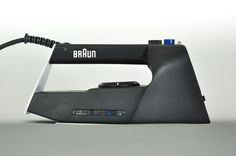 BRAUN IRON by Paulin Giret #design #technology #braun