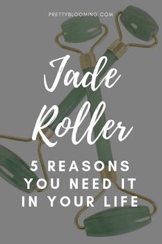 Jade Roller - 5 Reasons You Need It in Your Life How To Apply Eyeliner, How To Apply Makeup, Anti Aging Skin Care, Natural Skin Care, Beauty Hacks Dark Circles, Facial For Dry Skin, Skin Roller, Beauty Hacks Eyelashes, Facial Muscles