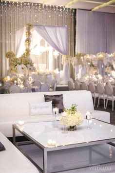 Heidi + Sam | White orchids and cream roses filled the Four Seasons Hotel Toronto! | Photography by: Visual Cravings