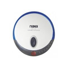Naxa Slim Personal Compact Disc Player-Blue