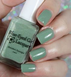 Blue Eyed Girl Lacquer - Time and a River
