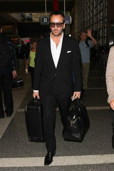 Tom Ford Is Our New Airport Style Hero