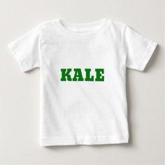 Kale Baby T-Shirt - vegan personalize diy customize unique