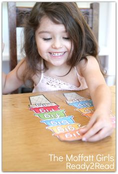 READ and BUILD and ice-cream cone with word families!  There are a TON of interactive ideas to work with words!