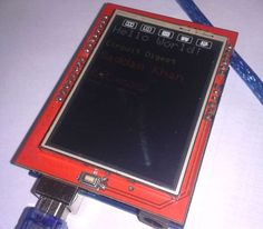 TFT-LCD-shield-on-arduino